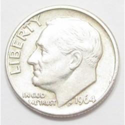 1 dime 1964 D