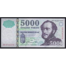 5000 forint 1999 BD