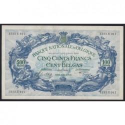 500 francs 1942