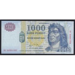 1000 forint 1992 D