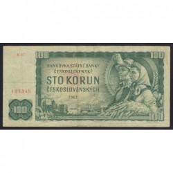 100 korun 1961 série R