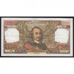 100 francs 1970