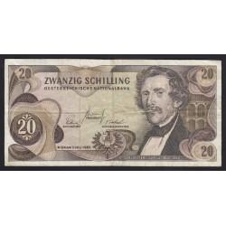 20 schilling 1967