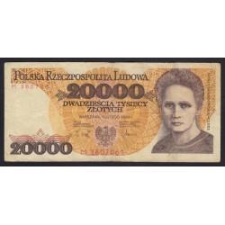 20000 zlotych 1989