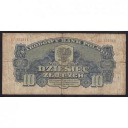 10 zlotych 1944