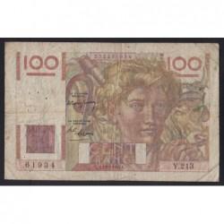 100 francs 1947