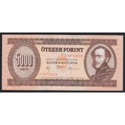 5000 forint 1992 J