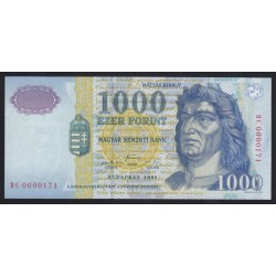 1000 forint 1999 DC - LOW SERIAL