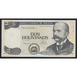 2 bolivianos 1990