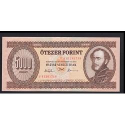 5000 forint 1993 J
