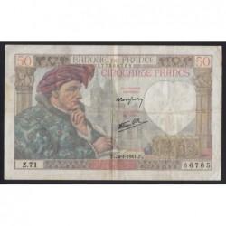 50 francs 1941