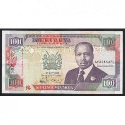 100 shilings 1992