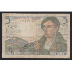 5 francs 1943