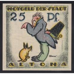 25 pfennig 1921 - Altona