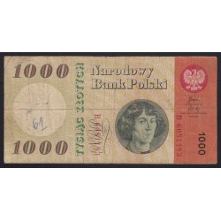 1000 zlotych 1965