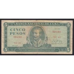 5 pesos 1986