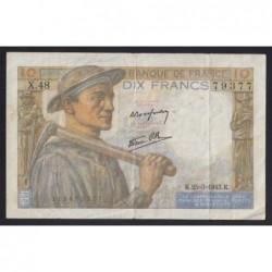 10 francs 1943
