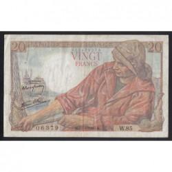 20 francs 1943