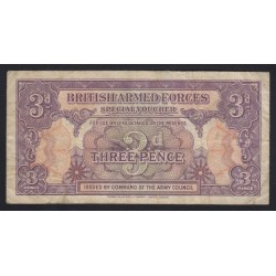 3 pence 1946 - British Armed Forces