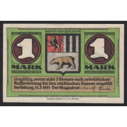 1 mark 1921 - Berleburg