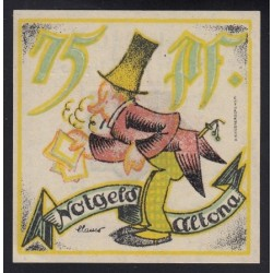 75 pfennig 1921 - Altona