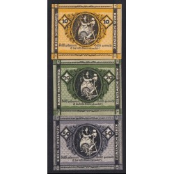 10-20-50 pfennig 1920 - Kreis Schweinitz
