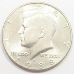 half dollar 1988 P