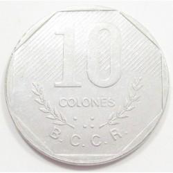 10 colones 1983