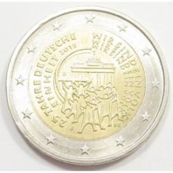 2 euro 2015 D - 25 years of German unity