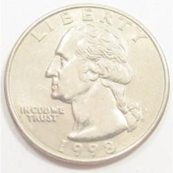 quarter dollar 1998 P