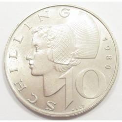 10 schilling 1980