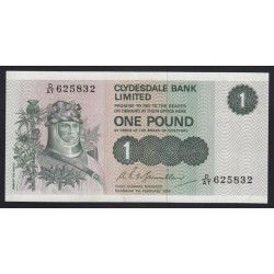 1 pound 1978 - Clydesdale Bank Limited Scotland