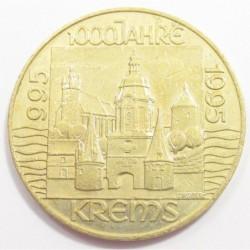 20 schilling 1995 - Krems 1000th
