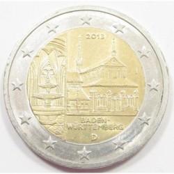 2 euro 2013 J - Baden-Württemberg