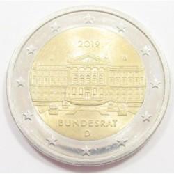 2 euro 2019 J - Bundesrat
