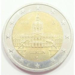 2 euro 2018 D - Berlin