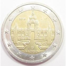 2 euro 2016 J - Sachsen