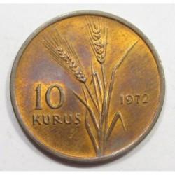 10 kurus 1972