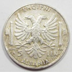 5 lek 1939