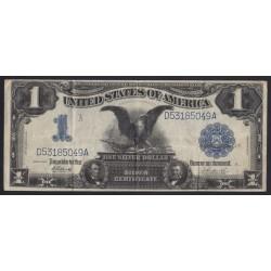 1 dollar 1899 - Silver Certificate Black Eagle