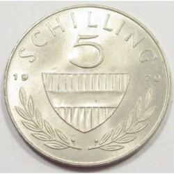 5 schilling 1970