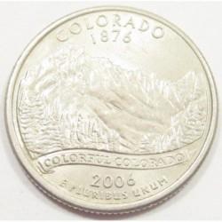 quarter dollar 2006 P - Colorado