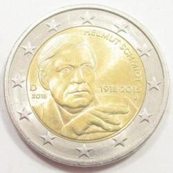 2 euro 2018 J - Helmut Schmidt