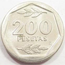 200 pesetas 1988