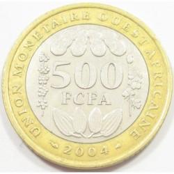 500 francs 2004
