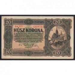 20 korona 1920