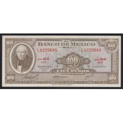 100 pesos 1972