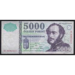 5000 forint 1999 BC
