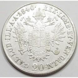 Ferdinand I. 20 kreuzer 1840 A