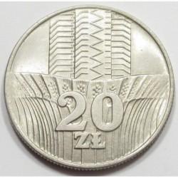 20 zlotych 1976